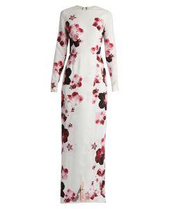Elie Saab | -Print Crepe Gown