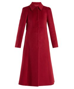 Red Valentino | Point-Collar Wool And Mohair-Blend Coat