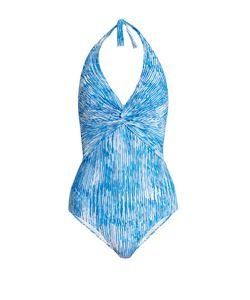 Melissa Odabash | Zanzibar Halterneck Swimsuit