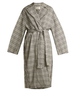 Zimmermann | Rife Checked Wool Trench Coat