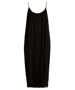Velvet by Graham & Spencer | Lilac Scoop-Neck Cotton-Gauze Dress