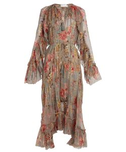 Zimmermann | Mercer Floating Print Silk-Chiffon Dress