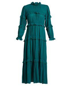 Isabel Marant Étoile | Yukio Ruffle-Trimmed Tiered Cotton Dress