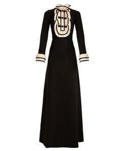 Gucci | Ruffle-Trimmed Crepe-Jersey Gown