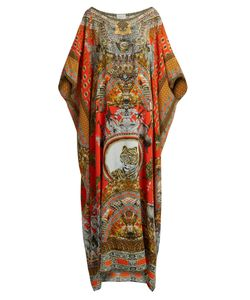 Camilla | Hangzhou Hollywood-Print Silk Kaftan
