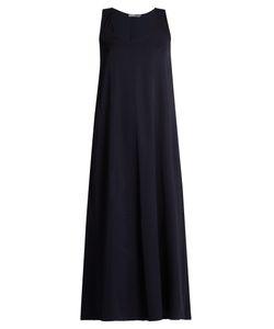 Vince   Sleeveless A-Line Satin Dress