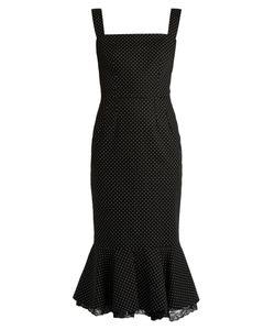 Dolce & Gabbana   Polka-Dot Print Stretch-Cotton Dress