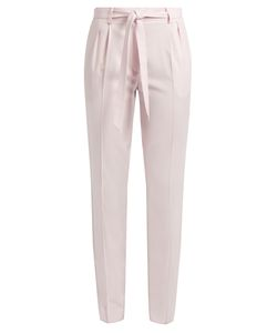 Gabriela Hearst | Magus Tie-Waist Pleated Wool Trousers