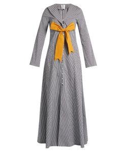 Rosie Assoulin | Seeker Detachable-Bow Gingham Coat