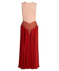 ROKSANDA | Madara Tri-Colour Sleeveless Dress