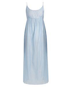 Thierry Colson | Slip Cotton And Silk-Blend Midi Dress