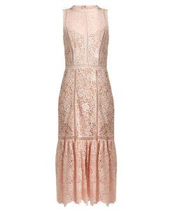 Rebecca Taylor | Arella Open-Back Cotton-Lace Dress