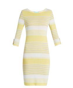 Melissa Odabash | Maddie Striped-Knit Mini Dress