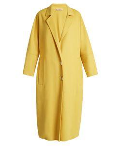 Marni | Oversized Notch-Lapel Wool-Blend Coat
