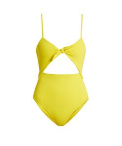 Mara Hoffman | Tie-Front Cut-Out Swimsuit