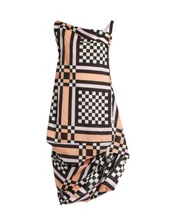 Vivienne Westwood Anglomania | Tube Nomad Checked Cotton Dress