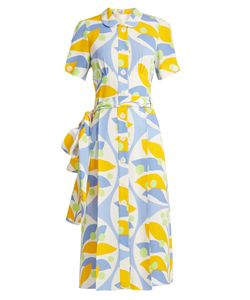 Miu Miu | -Print Crepe Dress