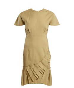 Isabel Marant | Rimba Pleated-Hem Linen-Blend Dress