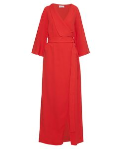 OSMAN | Nico Crepe Wrap Dress