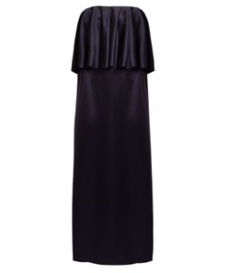 OSMAN | Clover Strapless Satin Gown
