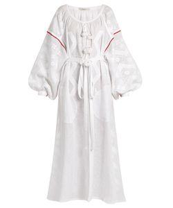 Vita Kin | Mina Embroidered Linen Dress