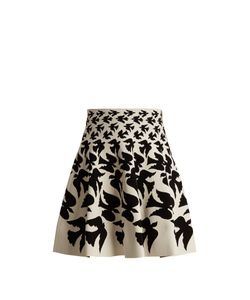 Alexander McQueen | Doves-Intarsia Mini Skirt