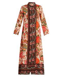 ANJUNA | Camelia Print Silk Dress