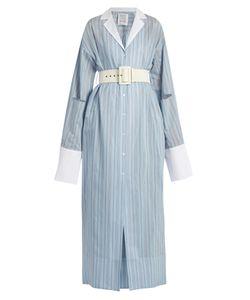 Rosie Assoulin   Schloppy Joe Belted Cotton And Silk-Blend Dress
