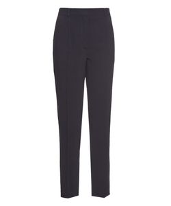 RAEY | Cropped Slim-Fit Crepe Trousers