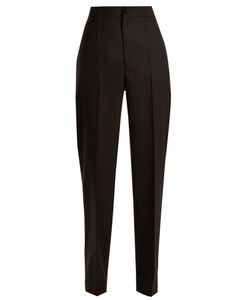 JACQUEMUS | High-Rise Straight-Leg Wool Trousers