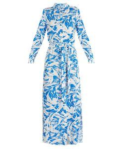 Melissa Odabash | Alyna Tropical-Print Maxi Dress