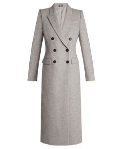 Alexander McQueen | Double-Breasted Peak-Lapel Wool Coat