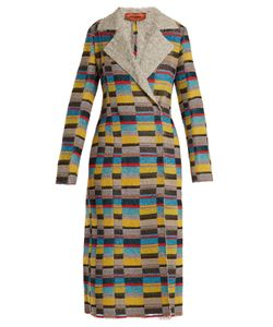 Missoni | Notch-Lapel Patchwork-Bouclé Coat