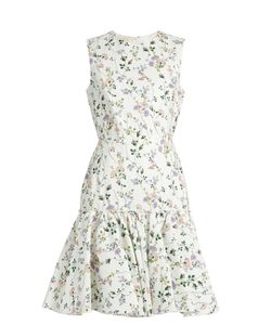 Giambattista Valli | -Print Sleeveless Faille Dress
