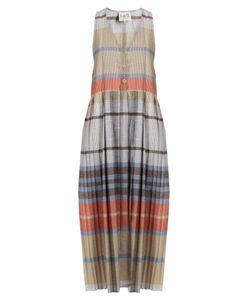 Sea   Checked Cotton Dress