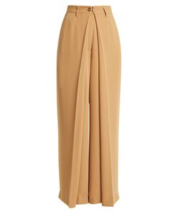 MM6 by Maison Margiela | Pleated Wide-Leg Trousers