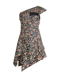 Isabel Marant   Ricco Print One-Shoulder Silk Dress