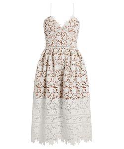 SELF-PORTRAIT | Azaelea Lace Midi Dress