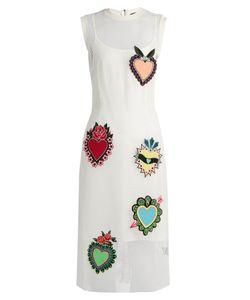 House Of Holland | Heart-Appliqué Mesh Dress
