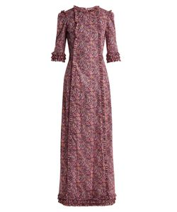 THE VAMPIRE'S WIFE | Cate Street Sweeper Liberty Print Dress