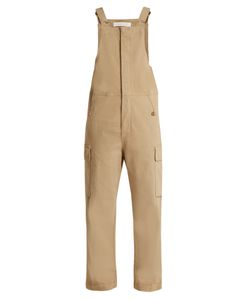 See By Chloe | Straight-Leg Stretch-Cotton Dungarees