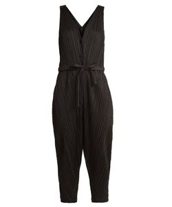 PLEATS PLEASE BY ISSEY MIYAKE | Sleeveless Pleated Jumpsuit