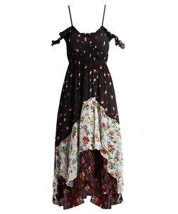Preen Line | Cecileprint Cold-Shoulder Dress