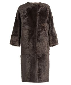 ALMA ROSA SHEARLINGS | Avril Reversible Shearling Coat
