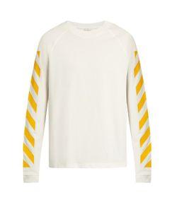Moncler O   Maglia Striped Cotton T-Shirt