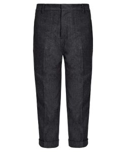 YOHJI YAMAMOTO REGULATION | Dropped-Crotch Cropped Jeans