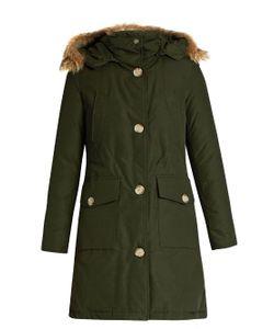 WOOLRICH JOHN RICH & BROS. | Arctic Long Fur-Trimmed Cotton-Blend Canvas Parka