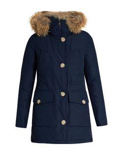 WOOLRICH JOHN RICH & BROS. | Arctic Fur-Trimmed Cotton-Blend Canvas Parka