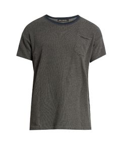 LONGJOURNEY | Crew-Neck Patch-Pocket Cotton T-Shirt