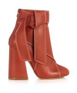 Ellery | Susanna Leather Ankle Boots
